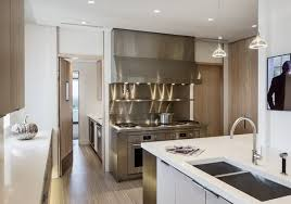 Kitchen View Of Custom Stainless Steel Cooking Station