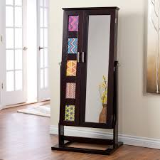 Modern Jewelry Armoire Cheval Mirror - Espresso | Hayneedle Fniture Cheap White Jewelry Armoire Small Mirror Ikea With Color Tips Interesting Walmart Design Ideas Heritage Cheval Cherry Walmartcom Amazoncom Mirrored Cabinet W Stand Acme Didi In White97004 The Home Depot Modern Espresso Hayneedle Free Standing Chest Dark Innovation Luxury For Inspiring Nice