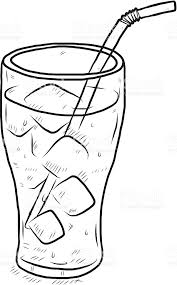 Collection Of Water High Quality Free Black And White Vector Drinks Clipart Cold Object