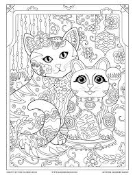 Lucky Chinese Cat Creative Kittens Coloring Book By Marjorie Sarnat