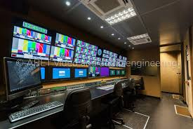 10 HD Cameras Sport Production OB Van - ARET