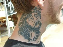 The Sacred Tattoo Design Below Is A Symbol Of Jesus Carrying Cross And Has Quite Deep Spiritual Meaning To Christian Faith