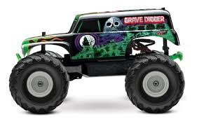 Monster Truck Grave Digger Clipart Collection