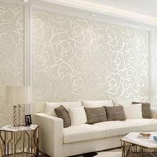 gehobenen beflockung tapete rolle vlies geometrische muster wand aufkleber moderne einfache wohnzimmer schlafzimmer 3d wand papier
