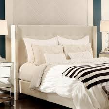 Knickerbocker Bed Frame Embrace by Prepac White Floating Queen Headboard With Nightstands Whhq 0520