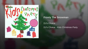 Frosty Snowman Christmas Tree by Frosty The Snowman Youtube