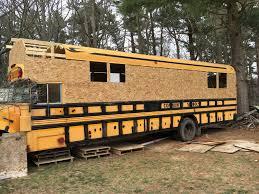 Skoolie Conversion Floor Plan by Gettin Weird A Bus To Tiny House Conversion 97 U0027 Bluebird