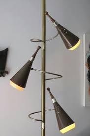 Stiffel Floor Lamp Pole Switch by Mid Century Raymond Loewy Stiffel Tension Floor Pole Lamp Danish