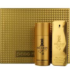 one million for by paco rabanne 2 gift set eau de