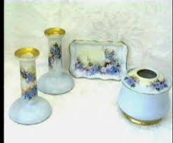 Vanity Dresser Set Accessories by Limoges And Nippon Dresser Vanity Set Candlesticks Antique