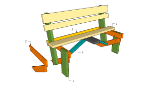 Build Wooden Garden Chair by Simple Garden Bench Plans Free Garden Plans How To Build