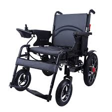 City Hopper Electric Wheelchair With 16-inch Rear Wheels, 500W Motor,  24V–12AH Battery, Easily Foldable, Joystick Controlled, Powered Mobility  Aid ... Drive Medical Flyweight Lweight Transport Wheelchair With Removable Wheels 19 Inch Seat Red Ewm45 Folding Electric Transportwheelchair Xenon 2 By Quickie Sunrise Igo Power Pride Ultra Light Quickie Wikipedia How To Fold And Transport A Manual Wheelchair 24 Inch Foldable Chair Footrest Backrest