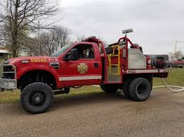 100 Red Fire Trucks Stolen From Oklahoma Department Fort