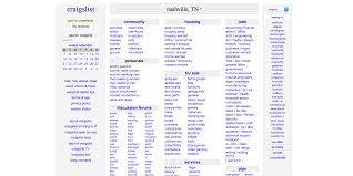 100 North Ms Craigslist Cars And Trucks Craigslist Nashville TN Jobs Apartments Personals For Sale Services