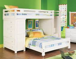 Kids bedroom ideas you can play color wall green and white bunk