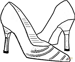 Click The Italian Shoes Coloring Pages To View Printable