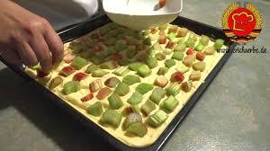 schnell einfach rhabarberkuchen backen wie frü alte rezepte aus dem osten 118
