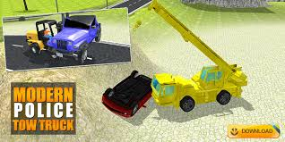Get Police Tow Truck Transporter - City Car Lift Duty - Microsoft Store