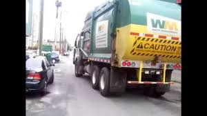 WASTE MANAGEMENT Garbage Truck Vancouver And I Got A TOY GARBAGE ...