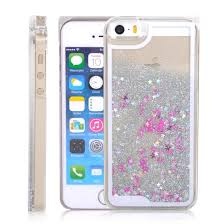 Falling Stars Liquid Glitter 3D Bling case cover for iPhone 6