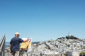 Coit Tower Murals Prints by An Insider U0027s Guide To San Francisco Wsj