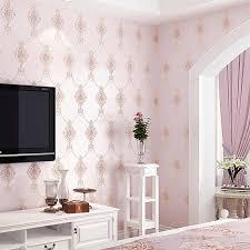 europa damaskus design 3d geprägte tapeten wohnzimmer schlafzimmer selbst klebe tapete rosa beige wandbild papel de parede qz007