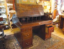 Dickens Partners Desk Ark Antiques La Jolla CA