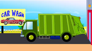 Garbage Truck Car Wash | Car Wash | Garbage Truck - YouTube