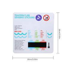 baby bad wasser temperatur mess karte aufkleber badewanne pool temperatur karte baby bad wasser temperatur aufkleber