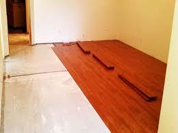 subfloor for basement hardwood new basement and tile