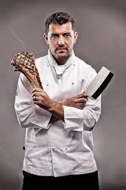 recherche chef de cuisine magazine shoot of three executive chefs inside portrait 2