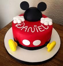 Mickey Mouse Cake Cakesbyme Pinterest