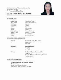 Resume Templates Format Simple Example Beautiful Examples For Filipino Stirring Free Download In Ms Word Uae