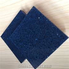 sparkle blue bright quartz tiles slabs at the home depot