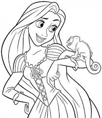Printable Disney Princess Coloring Pages Online 638587