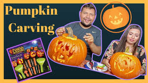 Pumpkin Masters Watermelon Carving Kit by We Try The Master Pumpkin Carving Kit Youtube