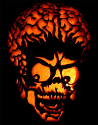 Harley Quinn Pumpkin Stencil by Mars Attacks Pumpkin By Piobman On Deviantart
