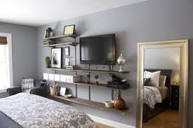 BedroomBedroom Master Tv Wallbreath Of Simple Shelves Ideas And Striking Suspended Image Bathroom Vanitysuspended