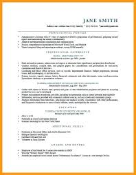 Resume Summary For Administrative Assistant 9 It Profile Examples Roses Statement Executive