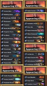 Mage Deck Hearthpwn Antonidas by Which Renomage List Mage Class Discussion Hearthpwn Forums