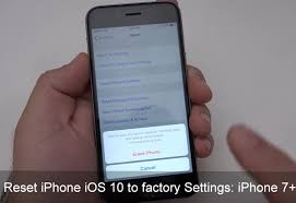 How to Reset iPhone iOS 11 to Factory settings iPhone iPad iPod