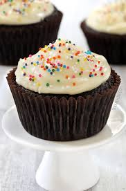 These whole wheat chocolate cupcakes are so incredibly moist They can also be