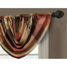 Geometric Pattern Curtains Canada by Shop Valances At Lowes Com