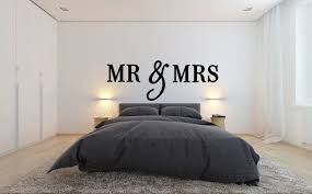 MR And Mrs Wooden Letters Wall Decor Bedroom Home