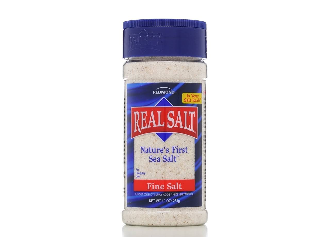 Real Salt Fine Salt - 10 oz
