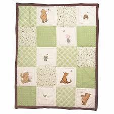 amazon com my friend pooh 4 piece baby crib bedding set by