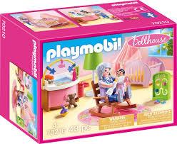 playmobil dollhouse 70210 babyzimmer 43 teile ab 4 jahren