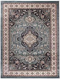 carpeto traditioneller orientalischer teppich kurzflor weicher teppich perser für wohnzimmer schlafzimmer esszimmer öko tex zertifiziert ayla