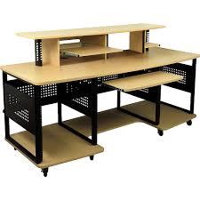Studio Rta Desk Glass by Studio Rta Producer Station Maple Walmart Com