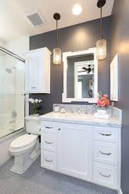 How To Make A Small Bathroom Look Bigger - Tips And Ideas ... Luxury Bathroom Vanity Lighting With Purple Freestanding And Marvelous Rustic Farmhouse Lights Oil Design Houzz Upscale Vanities Modern Ideas Home Light Hollywood Large For Menards Oval Ceiling Fixture Led Model Example In Germany 151 Stylish Gorgeous Interior Pictures Decor Library Bathroom Double Vanity Lighting Ideas Sink Layout Cool Small Makeup Drawers Best Pretty Images Gallery